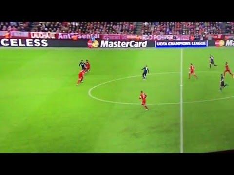 Antoine Griezmann Goal Bayern Munich - Atletico Madrid 1-1 (3/5/2016)