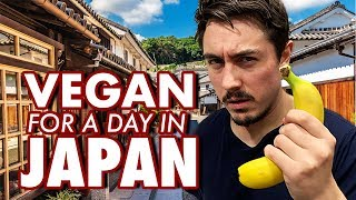 I Tried Being Vegan in Japan for a Day