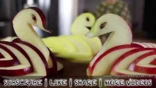 fruit kunst - zeer eenvoudige handleiding