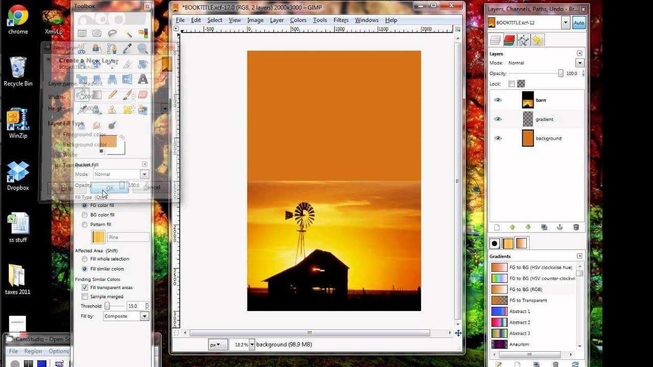 How To Make A Book Cover Using Gimp : Filecloudring