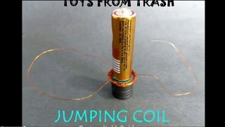 Jumping Coil | Telugu | Electromagnetic Toy
