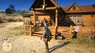 Red Dead Redemption 2 - John Marston's House & Farm Tour Shown - Open World Free Roam Gameplay