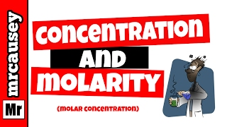 Molarity, Solutions, Concentrations and Dilutions