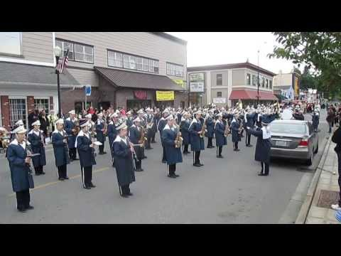 The Nation Anthem performed by the Arlington High School marching band
