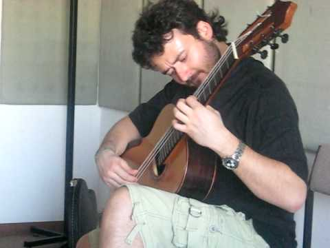 Antonio Mascolo plays Homage to Jarrett on Ibrahim Kirli guitar