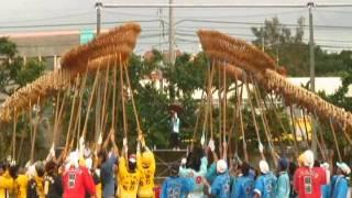 【宜野湾市大山の伝統行事】大山大綱引き