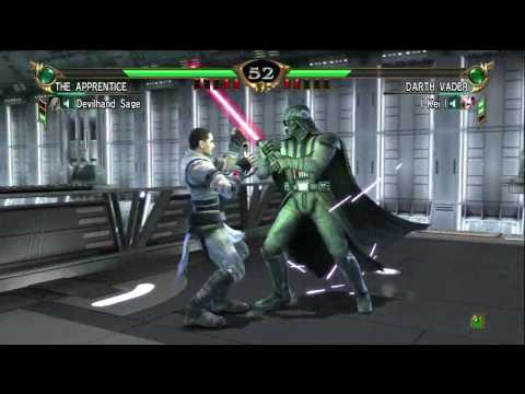 Soul Calibur IV: The Dark Side Unleashed - The Apprentice vs Darth Vader (Please Read Descripton)