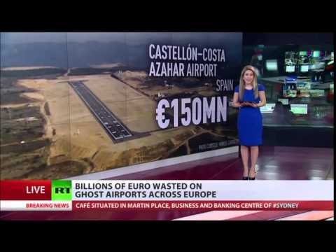 NO Passengers, NO Planes 'GHOST' Airports Of EUROPE