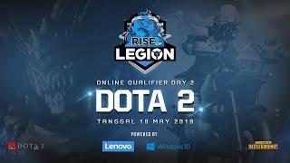 Lenovo Rise of Legion Dota 2 - Online Qualifier Day 2