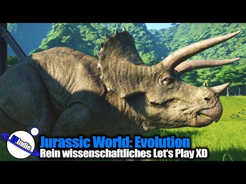 Jurassic World: Evolution - #001 Rein wissenschaftliches Let's Play XD
