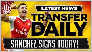Alexis SANCHEZ Might Sign For MANCHESTER UNITED Today | MAN UTD Transfer News