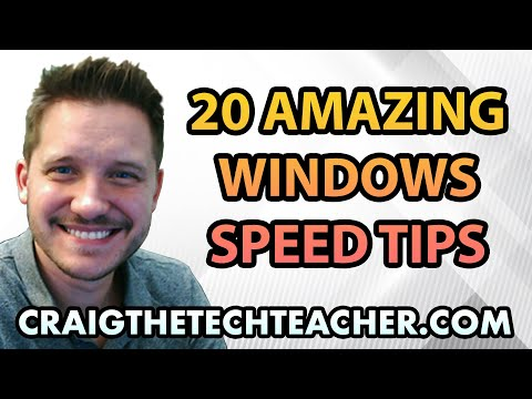 20 Amazing Windows 7 Performance Boosting Tips