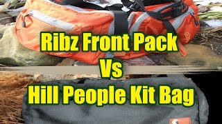 Hill People Kit Bag Vs Ribz Front Pack