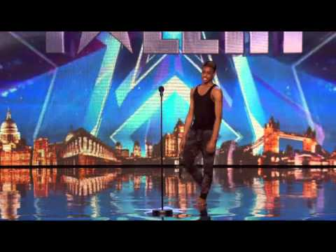 America's got talent! A very talented guy impress the judges with his dance moves