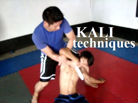 Kali Knife and Empty Hand Techniques Image 1