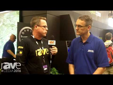 CEDIA 2016: Gary Kayye and Richard Miller from Epson Discuss Residential Market and New Offerings