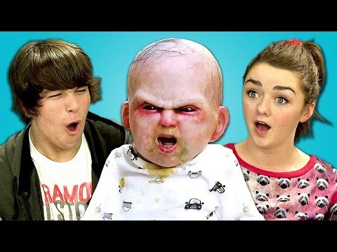 Teens React To Devil Baby Attack (ft. Maisie Williams) video