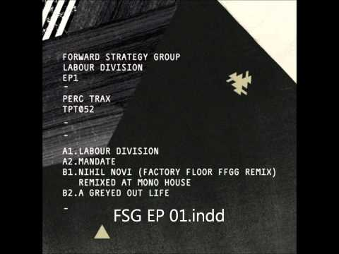 Forward Strategy Group -  Nihil Novi (Factory Floor FFGG Remix)