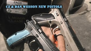 CZ & Dan Wesson New Pistols at SHOT Show 2017