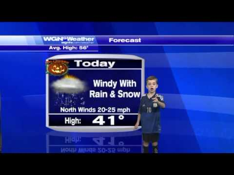 Hilarious kid completely owns WGN`s Friday Forecaster segment