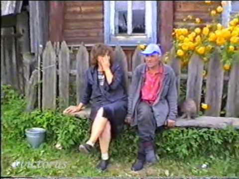 Посиделки в деревне - Whole village was going to to sit on bench