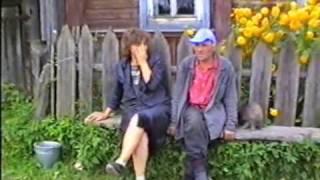 Посиделки в деревне - Whole village was going to to sit on bench
