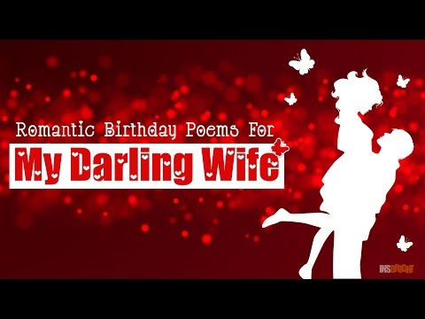 Romantic Happy Birthday Wishes For Wife With Love Video | Cute Birthday Poems For Her | Wishing Bee