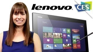 New Lenovo Wireless Screens - CES 2013
