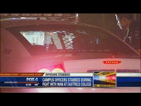 Officers stabbed at Eastfield College