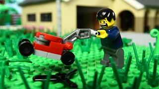 Lego Lawn Mower Fail