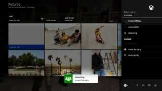 Xbox One: Meet Up with Friends Online by Using Parties
