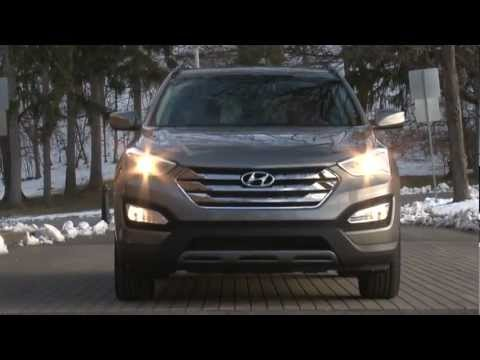 2013 Hyundai Santa Fe Sport - Drive Time Review with Steve Hammes