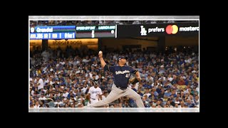 This Time, a Brewers Starter Is the Ace in a Win over the Dodgers