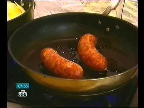 2010 01 21   Тортилья с колбасками, картошкой и луком