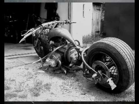 how to build a rat rod motorcycle