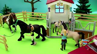 Download Horse Stable Barn Schleich Toy Playset For Kids 3Gp Mp4