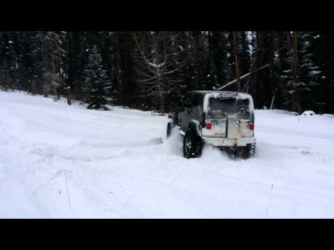 Winter baggin on 37 inch pitbull tires