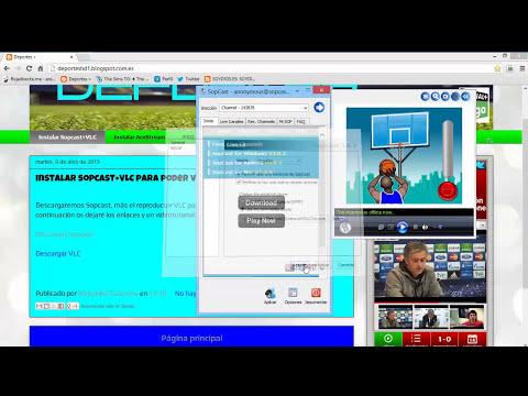 Instalar y descargar sopcast