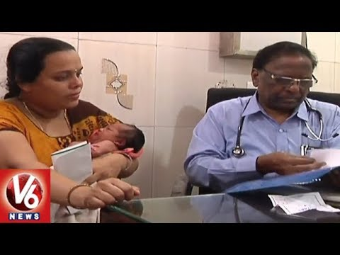 Seasonal Diseases Increased In Hyderabad City Due To Weather Change | V6 News