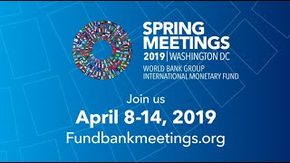 World Bank - IMF Spring Meetings Promo, 2019