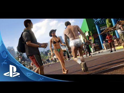 Grand Theft Auto V - A Picket Fence and a Dog Named Skip Trailer   PS4