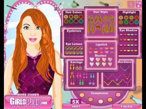 Игра для девочек макияж с 84