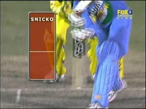 Harbhajan Singh refuses to walk vs Andrew Symonds