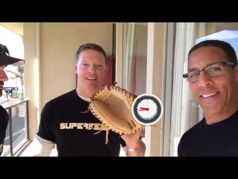 Adrian Gonzalez and Nick Hundley - Catcher's Mitt