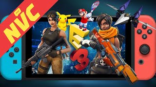 Big E3 Leaks Ahead of Nintendo Direct, Fortnite for Switch, Paladins Announced & more! - NVC Ep. 411