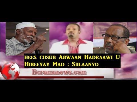 Hees Cusub Abwaan Hadraawi U Hibeeyay Siilaanyo