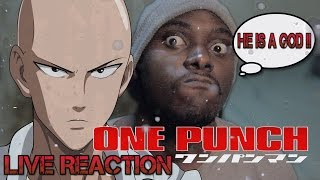 One Punch Man Ep 12 Reaction