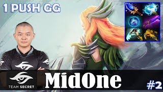 MidOne - Windranger MID | 1 PUSH GG 7.15 Update Patch | Dota 2 Pro MMR Gameplay #2