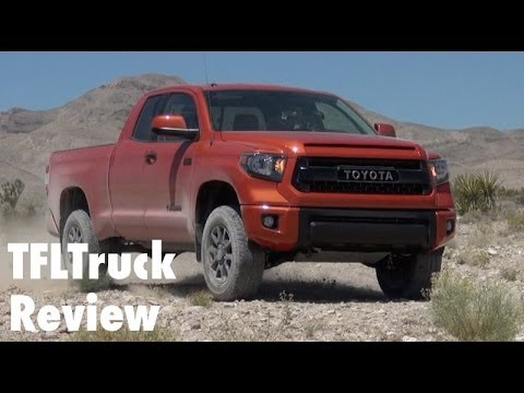 2015 Toyota Tundra TRD Pro Off-Road First Drive Review: Raptor Fighter?