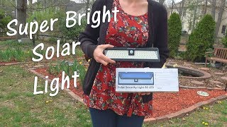 (11.1 MB) 💥SOLAR LIGHT - SUPER BRIGHT SWEET HOME  LIGHT (9500 Lumen-86 LED) MOTION SENSOR SECURITY REVIEW  👈 Mp3